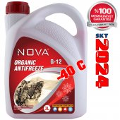 Nova Ultra 40 Derece Organik Kırmızı G12 Antifriz ...