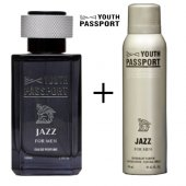 Youth Passport Jazz Men 100ml Edp Deo Set