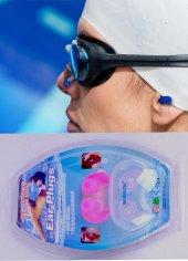 Bermuda Ear Plugs Silikon Yüzücü Havuz Kulak Tıkacı