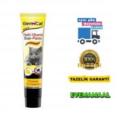 Gimcat Anti Hairball Duo Paste Peynirli Kedi Macun 50 Gr