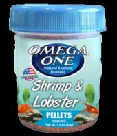 Omega One Shrimp & Lobster Pellets 34gr