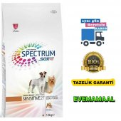 Spectrum Sensitive 27 Small Breed Yetişkin Köpek Maması 12 + 3 Kg