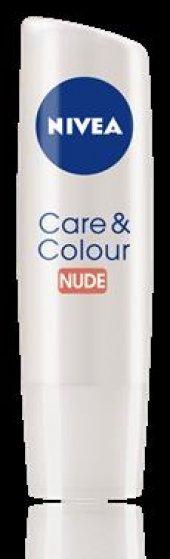 Nivea Lip Bakımlı &amp Renkli (Nude) Ten Rengi 4,8 G