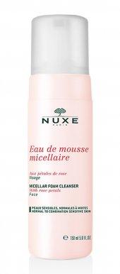 Nuxe Eau De Mousse Micellaire Aux Petales De Rose 150 Ml Yüz Temi