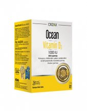 Ocean Vitamin D3 Sprey 1000 Iu 20 Ml