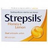 Strepsils Limon Bal 24 Past İl