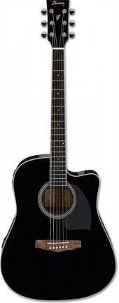 ıbanez Pf15ece Bk Elektro Akustik Gitar