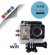 16gb 1080p Wifi Aksiyon Kamera Full Hd