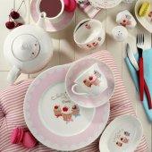 Kütahya Porselen 8362 Leonberg 33 Parça Beyaz Kahvaltı Takımı