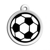 Dalis Pet Tag Mineli Seri Futbol Topu Desenli Künye