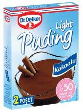 Dr.oetker Light Puding Kakaolu 70 Gr