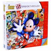 Mega Puzzles 200 Parça 3d Puzzle Breakthrough Mickey