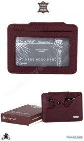 Cengiz Pakel Hakiki Deri Unisex Kartlık 2302