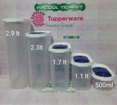 Tupperware Premium Oval Set 5li Saklama Kabı