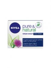 Nivea Vısage Pure&natural Kırışık Gece Kremi