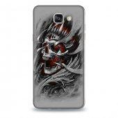 Samsung A9 Kılıf Skull King Desenli Kılıf