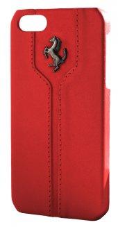Cg Mobile Ferrarı Iphone 4 4s Deri Arka Kapak Kırmızı Femthcp4re