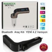 Hobimtek Dextel Bluetooth Araç Kiti G7 Fm Transmitter