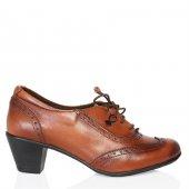 Uk Polo Club 64908 Kadın Topuklu Ayakkabı Taba