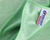 Intermop Mikrofiber Premium 65gr Parlak Doku Genel Temizlik Bezi Yeşil 40x40cm