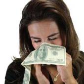 Dolar Şeklinde Peçete Dollar Napkin