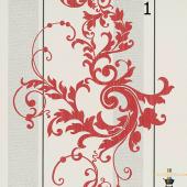 Kırmızı Damask Duvar Kağıdı (8m2) 25,90 Tl