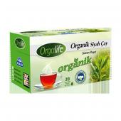 Orgalife Organik Bardak Poşet Siyah Çay 20li