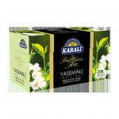 Premium Bardak Poşet Yaseminli Yeşil Çay 20li