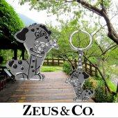 Zeus&co. Şirin Köpek Anahtarlık Hediye Kesesi İle Birlikte