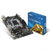 Msı Intel H110m Pro D H110 Ddr4 2133 Dvı Glan 1151p 7 Usb 3.1