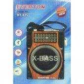 Everton Rt 815 Müzik Çalar Radyo Müzik Kutusu