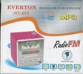 Everton Rt 605 Usb Girişli Radyo Müzik Çalar