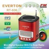 Everton Rt 606 Usb Çalar Radyo