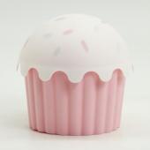 Cupcake Görünümlü Saklama Kabı (1200 Ml) Asorti