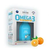 Zade Vital Premium Omega 3 Portakal Aromalı Balık Yağı Şurubu 100