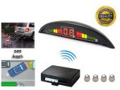 Inwells E2 Led Ekranlı Sesli Geri Park Sensörü Gri