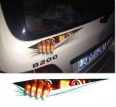 Araba Yapıştırma Uygulaması Sticker