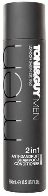 Toni&guy Men 2in1 Anti Dandruff Shampoo Kepek Şampuanı 250 Ml