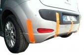 Fiat Punto Evo Arka Tampon Eki Difüzör (Plastik)