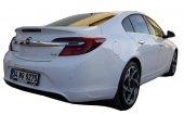 Opel İnsignia 2014 2016 Makyajlı Arka Tampon Eki Difüzör (Pla