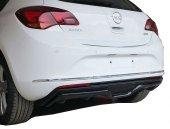 Opel Astra J Hb 2013 2015 Makyajlı Custom Arka Tampon Eki Difüz