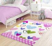 Confetti Çocuk Odası Anaokulu Oyun Halısı Sweet Heart