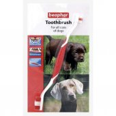Beaphar İki Uçlu Köpek Diş Fırçası 22 Cm
