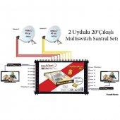 2uydulu 20 Çıkışlı Multiswitch Santral Seti