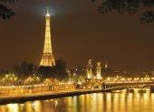 Komar 4 321 Eiffel Poster Duvar Kağıdı