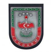 Gümüş Renk Jandarma Kemer Rozeti