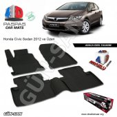Honda Civic Sedan 4d Havuzlu Paspas 2012 2016 Arası A+plus