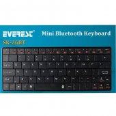 Everest Kb Bt026 Siyah Bluetooth Q Multimedia Kablosuz Klavye