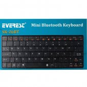Everest Kb Bt026 Beyaz Bluetooth Q Multimedia Kablosuz Klavye