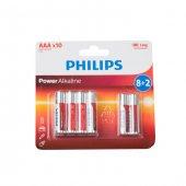 Philips Lr03p10bp 97 Aaa 8+2 İnce Alkaline Pil